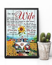 To My Wife Hippie 11x17 Poster lifestyle-poster-8