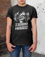Train Hand Classic T-Shirt apparel-classic-tshirt-lifestyle-31