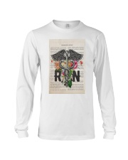 RN with Flowers Long Sleeve Tee thumbnail