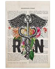 RN with Flowers 11x17 Poster front