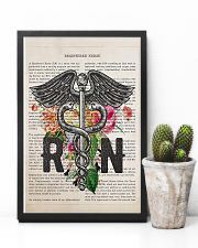 RN with Flowers 11x17 Poster lifestyle-poster-8