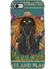 Easily Distracted By Cats And Garden Phone Case thumbnail