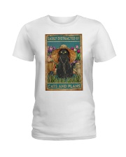 Easily Distracted By Cats And Garden Ladies T-Shirt thumbnail