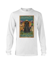 Easily Distracted By Cats And Garden Long Sleeve Tee thumbnail