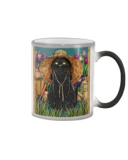Easily Distracted By Cats And Garden Color Changing Mug thumbnail