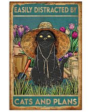 Easily Distracted By Cats And Garden 11x17 Poster front