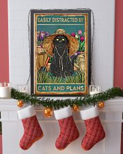Easily Distracted By Cats And Garden 11x17 Poster lifestyle-holiday-poster-4