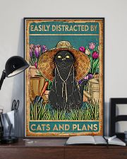 Easily Distracted By Cats And Garden 11x17 Poster lifestyle-poster-2
