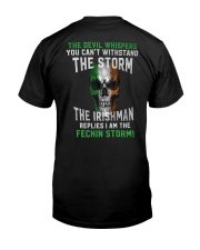 What The Storm Reply Classic T-Shirt back