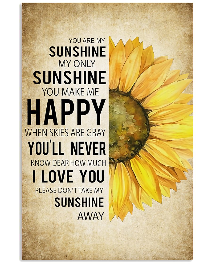 My Sunshine 16x24 Poster