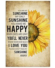 My Sunshine Vertical Poster tile