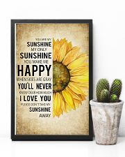My Sunshine 16x24 Poster lifestyle-poster-8