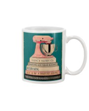 BAKING Because Murder Is Wrong Mug tile