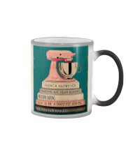 BAKING Because Murder Is Wrong Color Changing Mug thumbnail