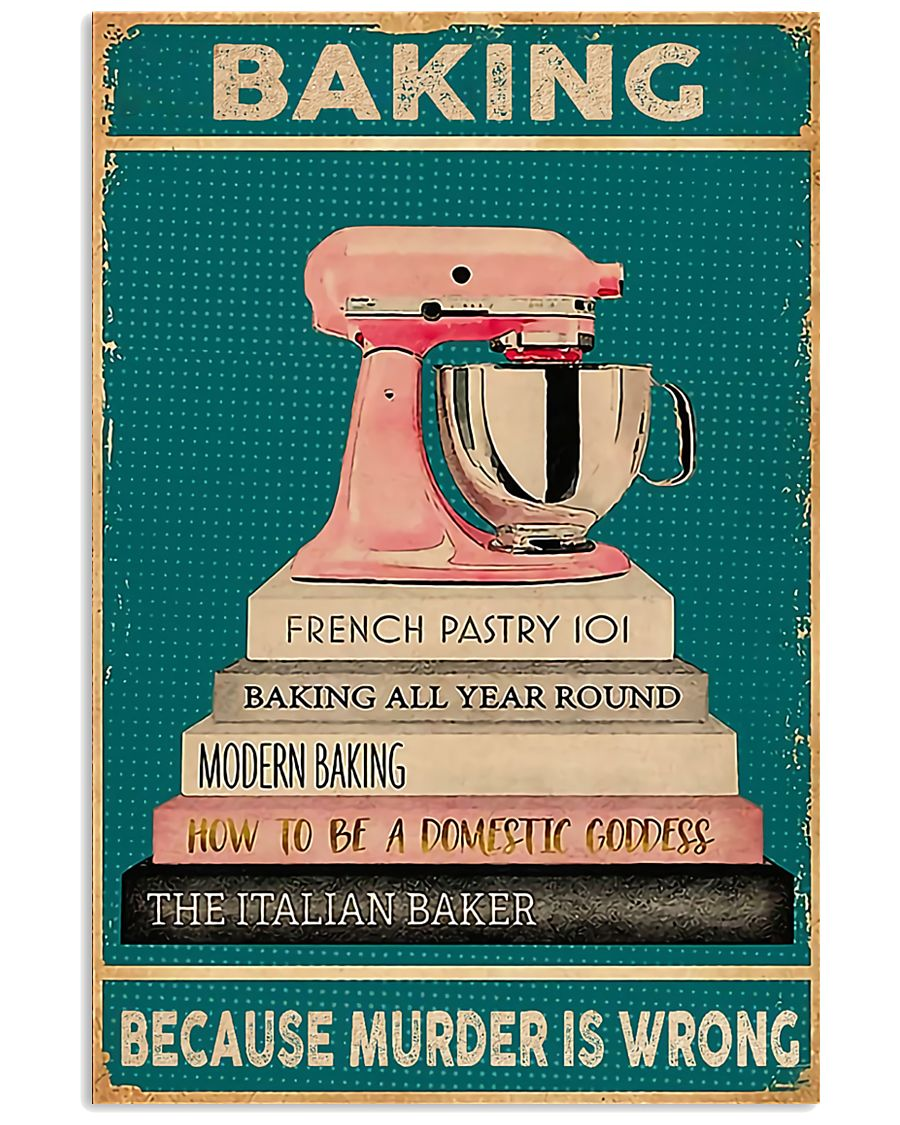BAKING Because Murder Is Wrong 11x17 Poster