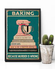 BAKING Because Murder Is Wrong 11x17 Poster lifestyle-poster-8