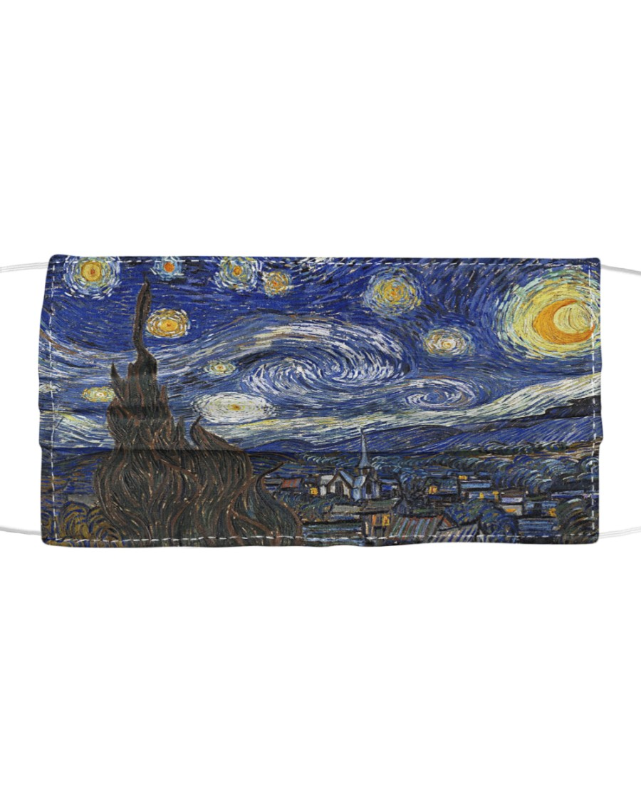 Starry Night Cloth face mask