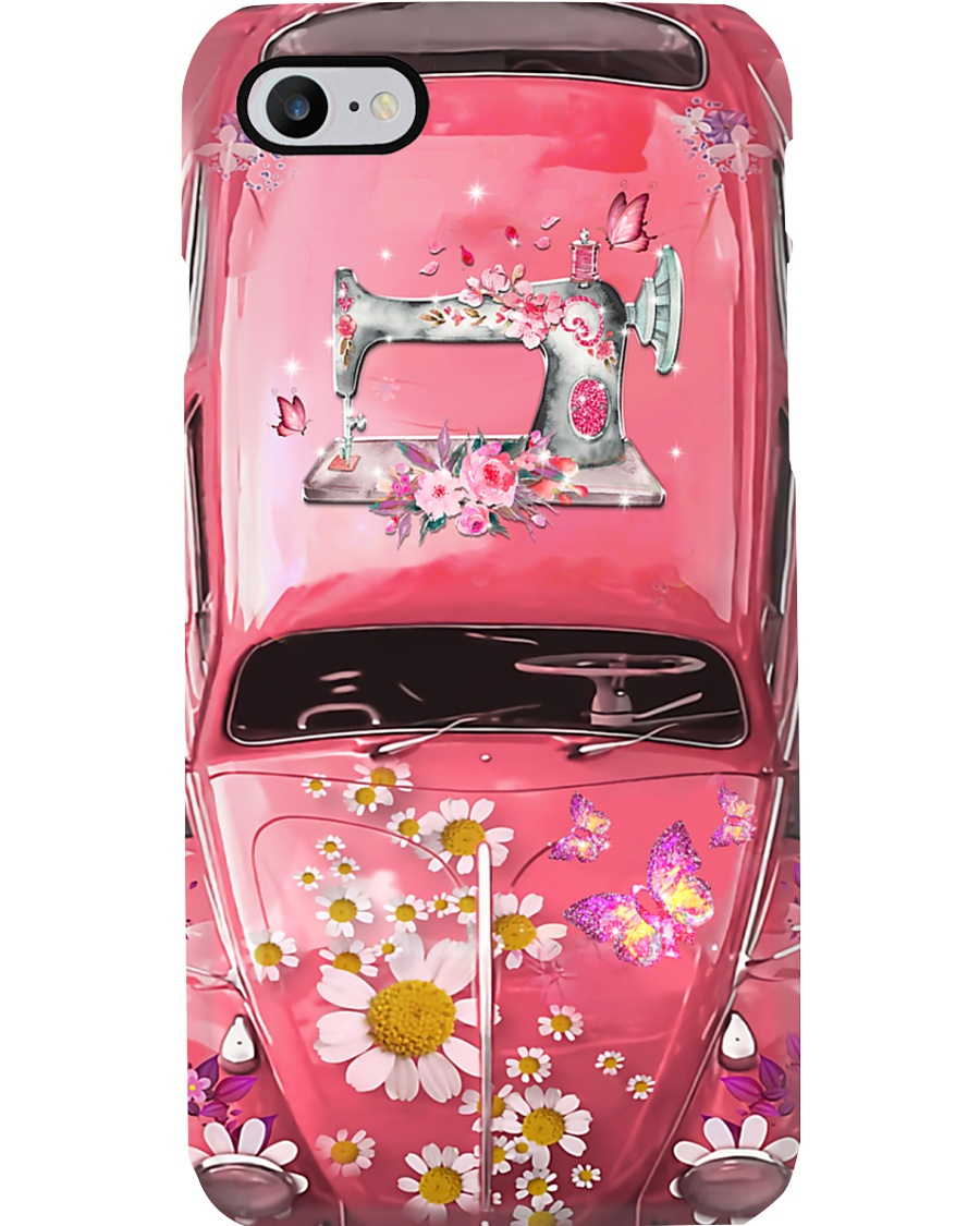 Sewing Lovers Vw Bug Phone Case