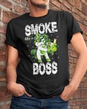 Smoke Like A Boss Classic T-Shirt apparel-classic-tshirt-lifestyle-26