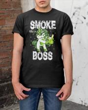 Smoke Like A Boss Classic T-Shirt apparel-classic-tshirt-lifestyle-31