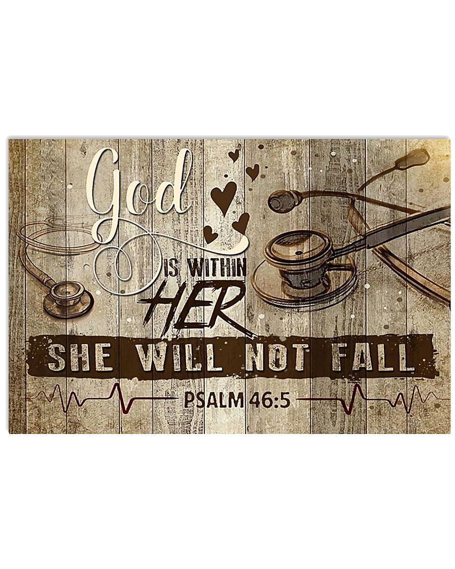 She Will Not Fall 17x11 Poster