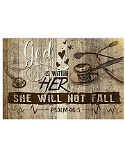 She Will Not Fall 17x11 Poster front