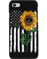 Peace Sunflower Phone Case i-phone-8-case