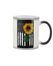 Peace Sunflower Color Changing Mug thumbnail