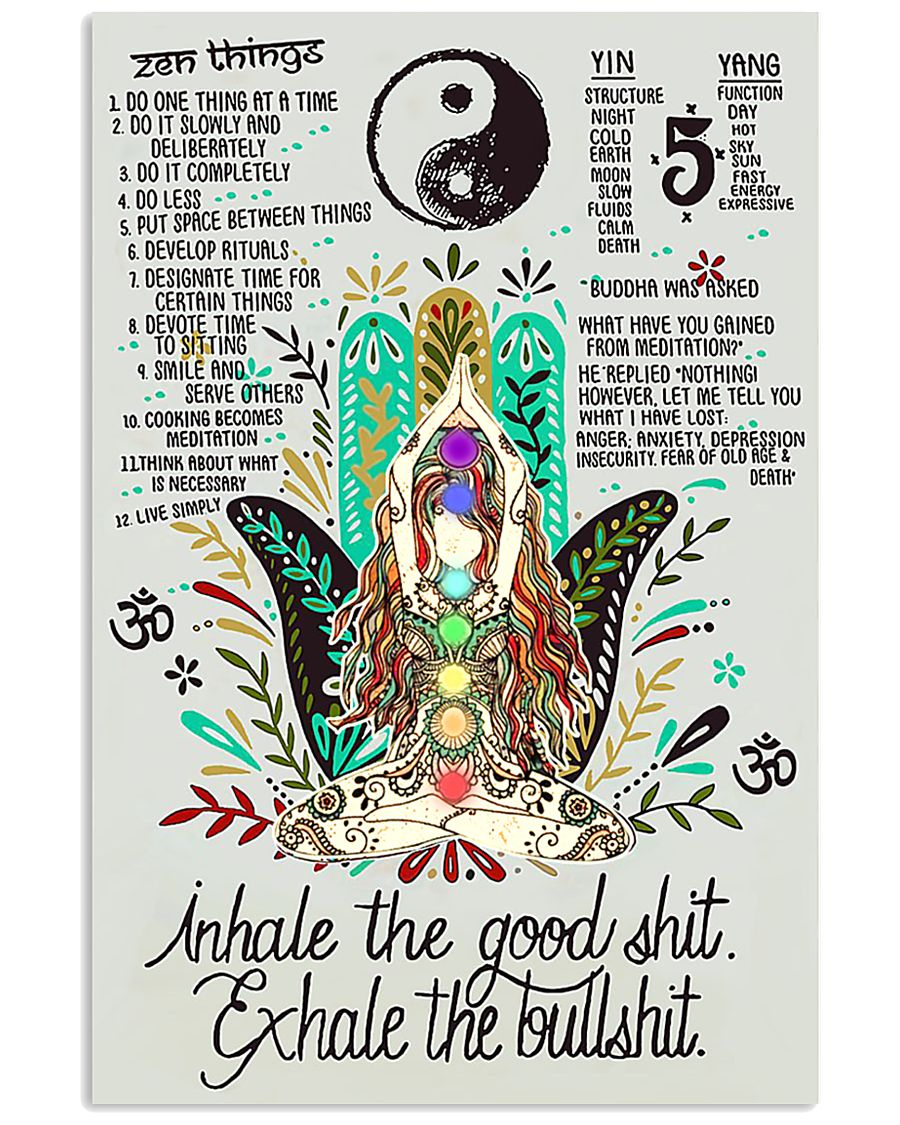 Inhale and Exhale 16x24 Poster