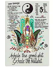 Inhale and Exhale 16x24 Poster front