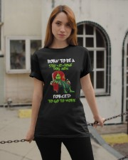 Born To Be A Stay-At-Home Classic T-Shirt apparel-classic-tshirt-lifestyle-19