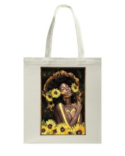 Black Queen Girl Art Tote Bag thumbnail