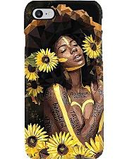 Black Queen Girl Art Phone Case thumbnail