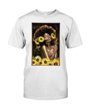 Black Queen Girl Art Classic T-Shirt thumbnail