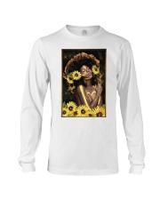 Black Queen Girl Art Long Sleeve Tee thumbnail