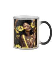 Black Queen Girl Art Color Changing Mug thumbnail
