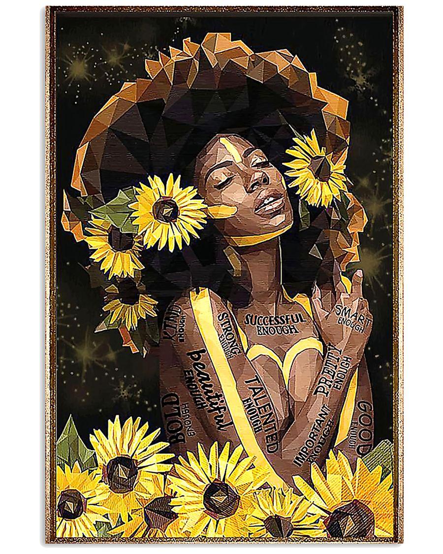 Black Queen Girl Art 11x17 Poster
