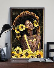 Black Queen Girl Art 11x17 Poster lifestyle-poster-2