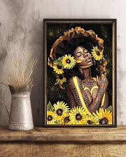 Black Queen Girl Art 11x17 Poster lifestyle-poster-3