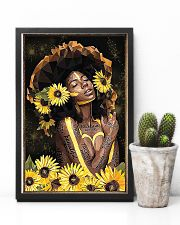 Black Queen Girl Art 11x17 Poster lifestyle-poster-8