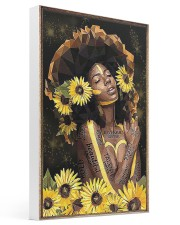 Black Queen Girl Art 16x24 Gallery Wrapped Canvas Prints thumbnail