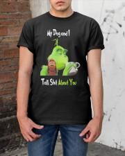 My Dog And Grinn Classic T-Shirt apparel-classic-tshirt-lifestyle-31