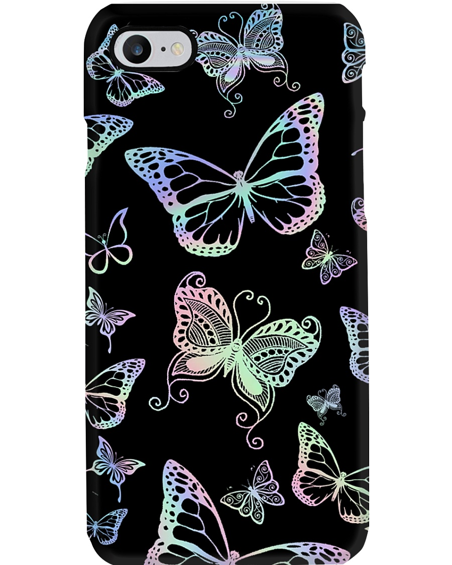 Holographic buttefly Phone Case