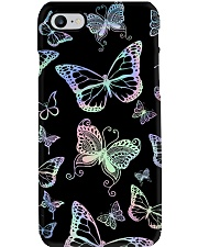 Holographic buttefly Phone Case i-phone-8-case