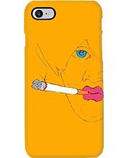 Smoking girl Phone Case thumbnail