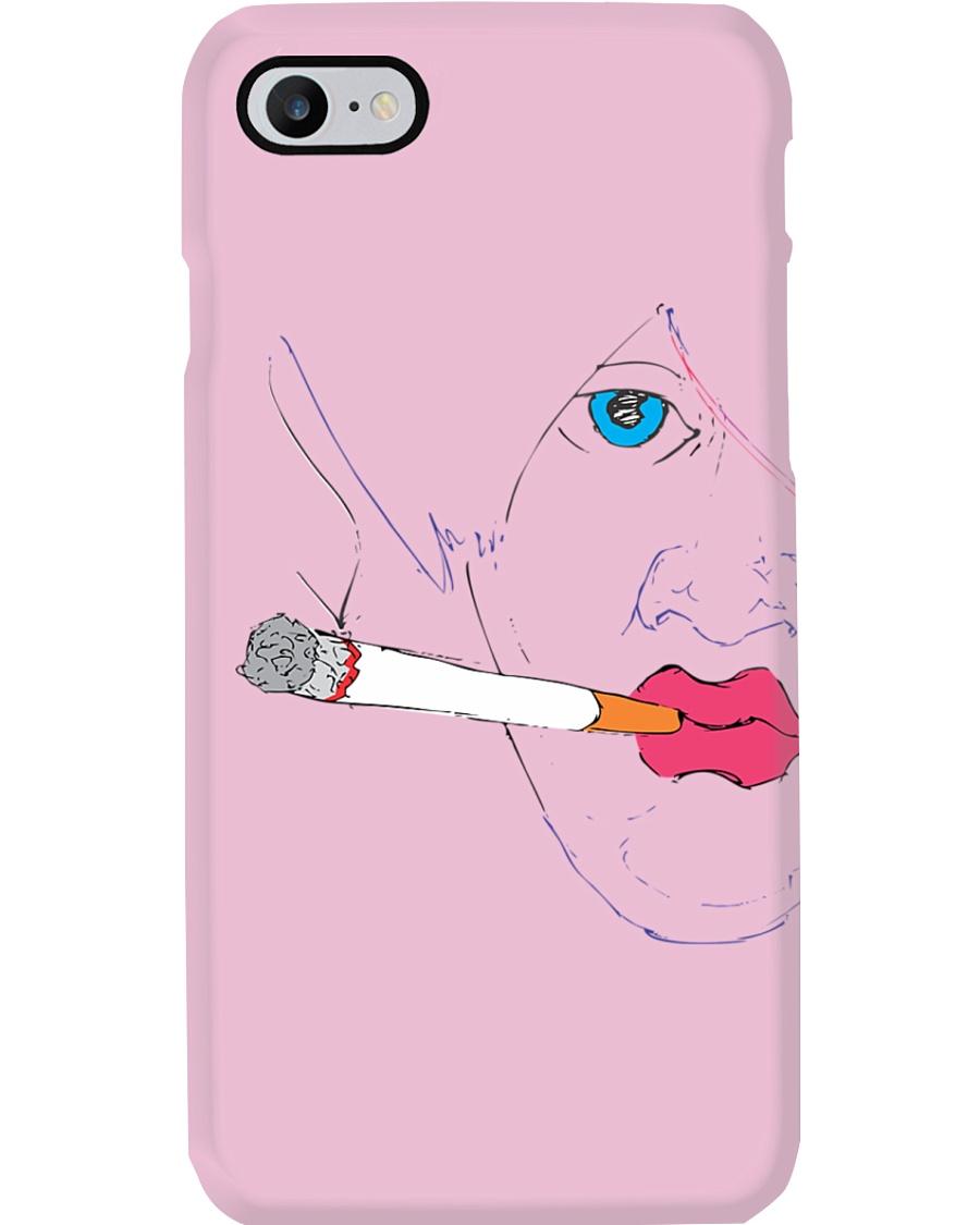 Smoking girl Phone Case