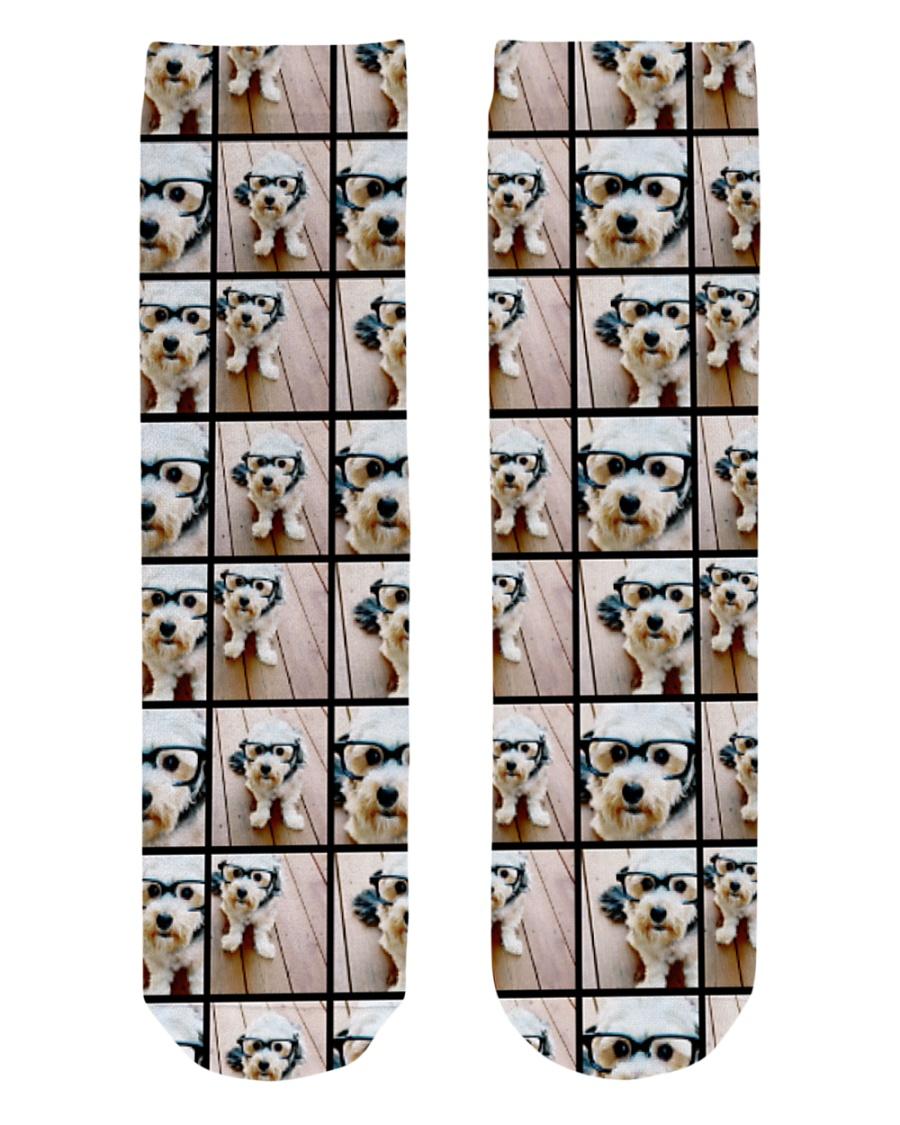 dog Crew Length Socks
