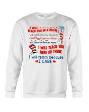 I Will Teach You In A Room Crewneck Sweatshirt thumbnail