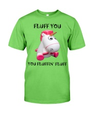 Fluff you you fluffin' fluff unicorn Classic T-Shirt thumbnail