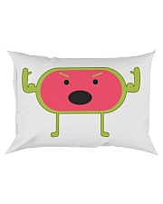 Angry Watermelon Rectangular Pillowcase tile